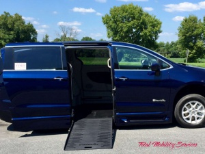 New Wheelchair Van For Sale: 2017 Chrysler Town & Country LE Wheelchair Accessible Van For Sale with a BraunAbility Chrysler Entervan XT on it. VIN: 2C4RC1BG8HR797128