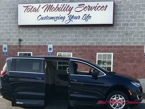 New Wheelchair Van For Sale: 2018 Chrysler Pacifica Touring Wheelchair Accessible Van For Sale with a VMI Chrysler Pacifica Northstar Access360 by VMI on it. VIN: 2C4RC1FGXJR114524