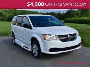 New Wheelchair Van For Sale: 2017 Dodge Grand Caravan SE Wheelchair Accessible Van For Sale with a VMI Dodge Northstar E on it. VIN: 2C4RDGBG2HR554690