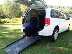 New Wheelchair Van For Sale: 2017 Dodge Grand Caravan SE Wheelchair Accessible Van For Sale with a BraunAbility Dodge Manual Rear Entry on it. VIN: 2C4RDGBG2HR808740