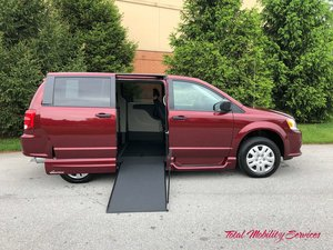 New Wheelchair Van For Sale: 2019 Dodge Grand Caravan SE Wheelchair Accessible Van For Sale with a VMI Dodge Northstar E on it. VIN: 2C4RDGBG9KR586667