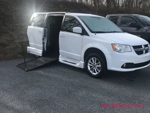 Used Wheelchair Van For Sale: 2018 Dodge Grand Caravan SXT Wheelchair Accessible Van For Sale with a VMI Dodge Northstar E on it. VIN: 2C4RDGCG2JR328587