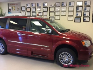 New Wheelchair Van For Sale: 2016 Chrysler Town & Country Touring Wheelchair Accessible Van For Sale with a Eldorado National Amerivan Amerivan Classic on it. VIN: 2C7WC1CG6GR232251