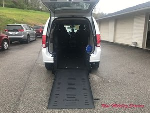 New Wheelchair Van For Sale: 2020 Dodge Caravan SE Wheelchair Accessible Van For Sale with a BraunAbility Dodge Manual Rear Entry on it. VIN: 2C7WDGBG0LR168123