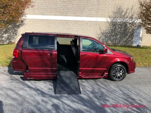 New Wheelchair Van For Sale: 2019 Dodge Grand Caravan SE Wheelchair Accessible Van For Sale with a VMI Dodge Northstar on it. VIN: 2C7WDGBG5KR504282