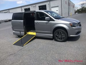 New Wheelchair Van For Sale: 2019 Dodge Grand Caravan SE Wheelchair Accessible Van For Sale with a VMI Dodge Northstar E on it. VIN: 2C7WDGBG8KR504213