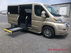 Used Wheelchair Van For Sale: 2018 Ram Promaster Low Roof Wheelchair Accessible Van For Sale with a TEMPEST Pro-Master Tempest X on it. VIN: 3C6TRVA67JE146701