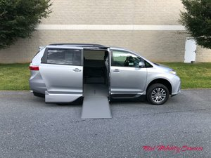 New Wheelchair Van For Sale: 2018 Toyota Sienna XLE Wheelchair Accessible Van For Sale with a VMI Toyota NorthstarAccess360 on it. VIN: 5TDYZ3DC1JS963194