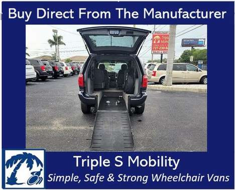 Used Wheelchair Van For Sale: 2006 Dodge Ram EL Wheelchair Accessible Van For Sale with a Handicap Accessible Van on it. VIN: 1D4GP45RX6B759862