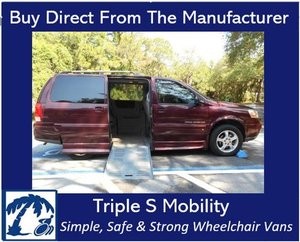 Used Wheelchair Van For Sale: 2008 Chevrolet Ram EL Wheelchair Accessible Van For Sale with a Handicap Accessible Van on it. VIN: 1GBDV13W78D107158