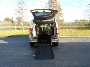 Used Wheelchair Van For Sale: 2010 Chrysler Town & Country LE Wheelchair Accessible Van For Sale with a Handicap Accessible Van on it. VIN: 2A4RR8D17AR320609