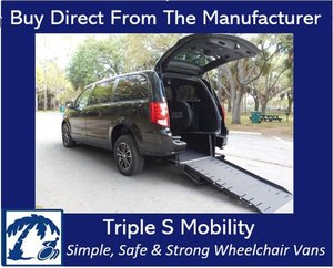 Used Wheelchair Van For Sale: 2016 Dodge Ram EL Wheelchair Accessible Van For Sale with a Handicap Accessible Van on it. VIN: 2C4RDGBG4GR401842
