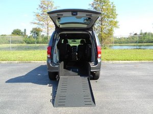 Used Wheelchair Van For Sale: 2017 Dodge Grand Caravan ES Wheelchair Accessible Van For Sale with a Handicap Accessible Van on it. VIN: 2C4RDGCGXHR699863