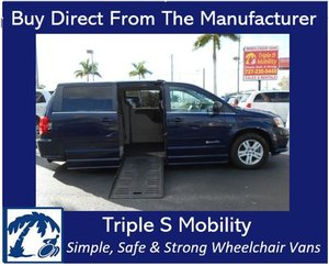 Used Wheelchair Van For Sale: 2012 Dodge Ram L Wheelchair Accessible Van For Sale with a Handicap Accessible Van on it. VIN: 2C4RDGDG4CR297991