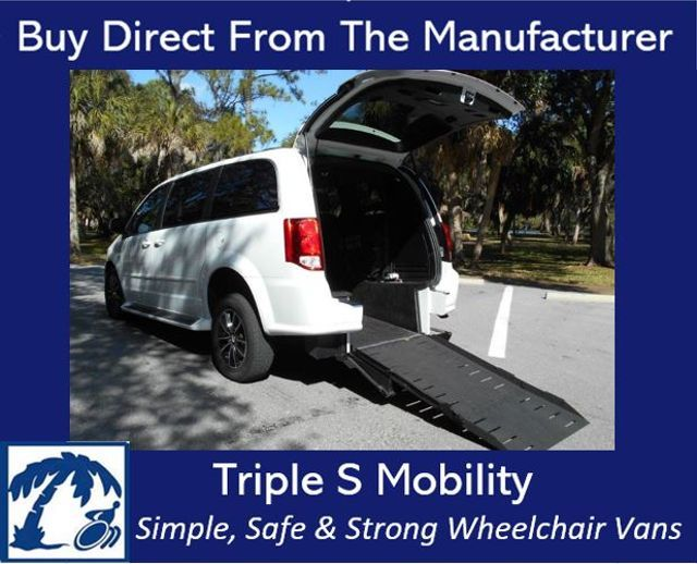 2016 dodge grand caravan wheelchair van for sale for Wheelchair accessible homes for sale in florida