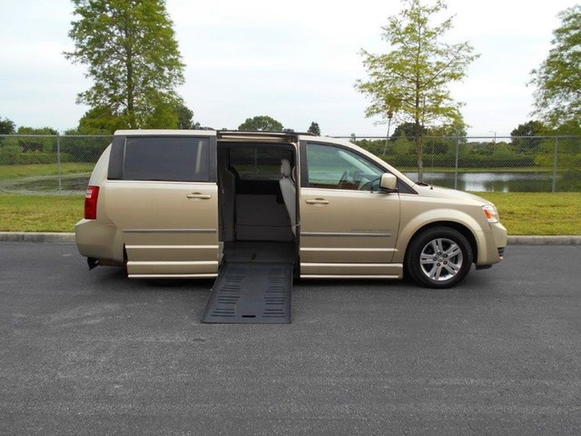 2010 dodge grand caravan wheelchair van for sale for Wheelchair accessible homes for sale in florida