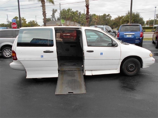 1995 ford windstar wheelchair van for sale handicap for Wheelchair accessible homes for sale in florida