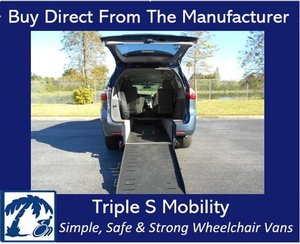 Used Wheelchair Van For Sale: 2015 Toyota Ram EL Wheelchair Accessible Van For Sale with a Handicap Accessible Van on it. VIN: 5TDKK3DC8FS537634