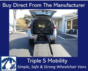 Used Wheelchair Van For Sale: 2017 Toyota Ram EL Wheelchair Accessible Van For Sale with a Handicap Accessible Van on it. VIN: 5TDKZ3DC2HS779656
