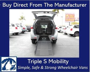 Used Wheelchair Van For Sale: 2017 Toyota Ram L Wheelchair Accessible Van For Sale with a Handicap Accessible Van on it. VIN: 5TDKZ3DC5HS793406
