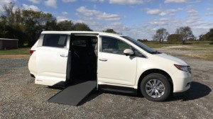 New Wheelchair Van For Sale: 2017 Honda Odyssey EX-L  Wheelchair Accessible Van For Sale with a VMI - Honda Northstar on it. VIN: 5FNRL5H64HB006871