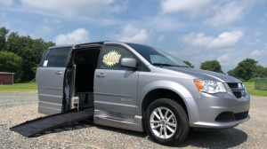 Used Wheelchair Van For Sale: 2015 Dodge Caravan  Wheelchair Accessible Van For Sale with a BraunAbility - Dodge Entervan XT on it. VIN: SC4RDGCG5FR585203