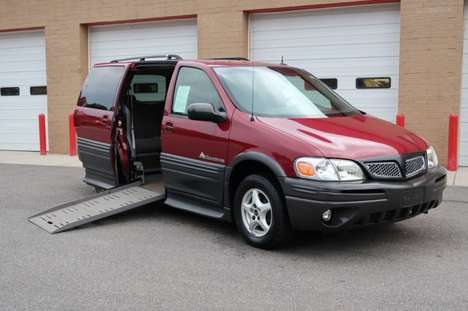 Used Wheelchair Van For Sale: 2005 Pontiac Montana  Wheelchair Accessible Van For Sale with a  on it. VIN: 1G5DV13E05D149578