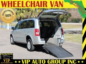 Used Wheelchair Van For Sale 2010 Chrysler Town Country LX Accessible