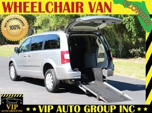 aa6f282d733058 Used Wheelchair Van For Sale  2014 Chrysler Town   Country Touring  Wheelchair Accessible Van For
