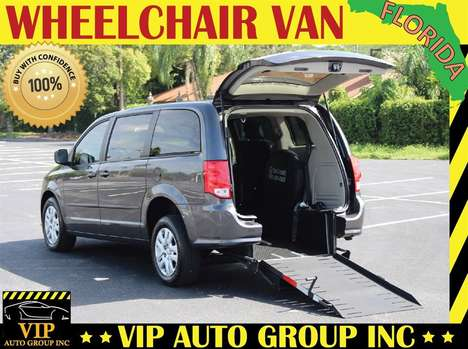 Used Wheelchair Van For Sale: 2015 Dodge Grand Caravan SE Wheelchair Accessible Van For Sale with a  on it. VIN: 2C4RDGBG4FR624932