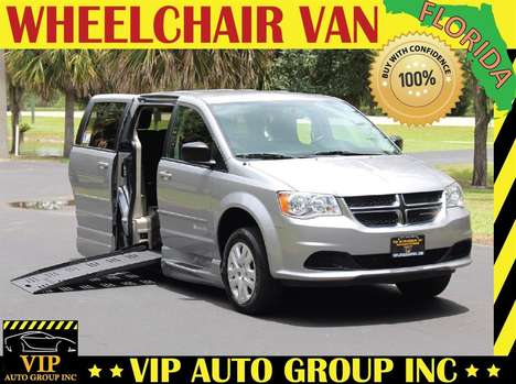 Used Wheelchair Van For Sale: 2017 Dodge Grand Caravan S Wheelchair Accessible Van For Sale with a  on it. VIN: 2C4RDGBG6HR822737