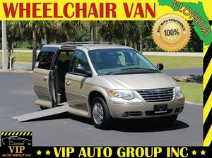 dda1278079915a Used Wheelchair Van For Sale  2005 Chrysler Town   Country Limited  Wheelchair Accessible Van For