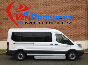 New Wheelchair Van For Sale: 2018 Ford Transit SE Wheelchair Accessible Van For Sale with a  on it. VIN: 1FBZX2CM7JKB40392