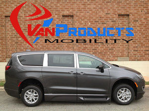 New Wheelchair Van For Sale: 2017 Chrysler Pacifica Touring Wheelchair Accessible Van For Sale with a  on it. VIN: 2C4RC1BG4HR851248