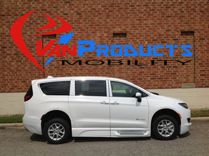 New Wheelchair Van For Sale: 2017 Chrysler Pacifica Touring Wheelchair Accessible Van For Sale with a  on it. VIN: 2C4RC1BGXHR851240