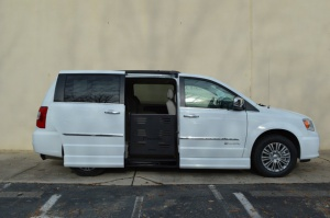 New Wheelchair Van For Sale: 2016 Chrysler Town & Country Touring Wheelchair Accessible Van For Sale with a  on it. VIN: 2C4RC1CG0GR166824