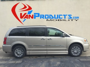 New Wheelchair Van For Sale: 2016 Chrysler Town & Country Touring Wheelchair Accessible Van For Sale with a  on it. VIN: 2C4RC1CG1GR283232
