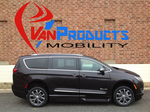 New Wheelchair Van For Sale: 2018 Chrysler Pacifica Limited Wheelchair Accessible Van For Sale with a  on it. VIN: 2C4RC1GG8JR154244