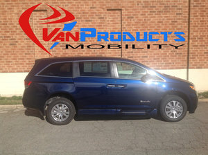 New Wheelchair Van For Sale: 2016 Honda Odyssey SE Wheelchair Accessible Van For Sale with a  on it. VIN: 5FNRL5H38GB141405