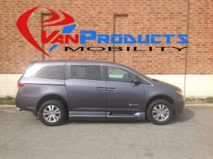 Used Wheelchair Van For Sale: 2015 Honda Odyssey EX Wheelchair Accessible Van For Sale with a  on it. VIN: 5FNRL5H62FB067410