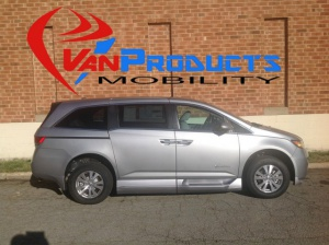 New Wheelchair Van For Sale: 2016 Honda Odyssey EX-L Wheelchair Accessible Van For Sale with a  on it. VIN: 5FNRL5H68GB120175