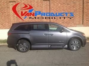New Wheelchair Van For Sale: 2016 Honda Odyssey Touring Wheelchair Accessible Van For Sale with a  on it. VIN: 5FNRL5H92GB142988