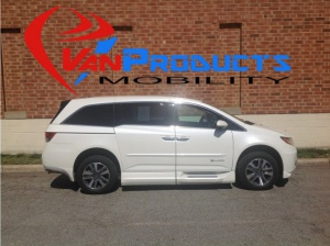 Used Wheelchair Van For Sale: 2014 Honda Odyssey Touring Wheelchair Accessible Van For Sale with a  on it. VIN: 5FNRL5H96EB064616