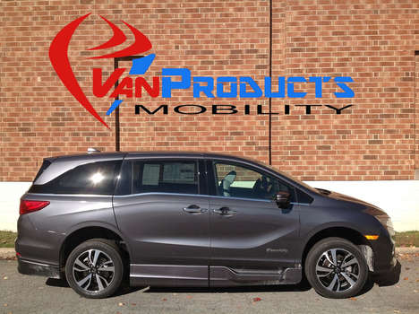 New Wheelchair Van For Sale: 2020 Honda Odyssey SE Wheelchair Accessible Van For Sale with a  on it. VIN: 5FNRL6H97LB018375