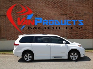 New Wheelchair Van For Sale: 2013 Toyota Sienna LE Wheelchair Accessible Van For Sale with a Braun Rampvan on it. VIN: 5TDKK3DC8DS379681