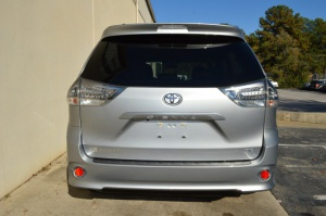New Wheelchair Van For Sale: 2015 Toyota Sienna SE Wheelchair Accessible Van For Sale with a Braun Rampvan on it. VIN: 5TDXK3DC3FS603089