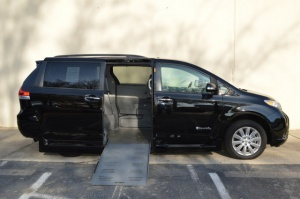 New Wheelchair Van For Sale: 2013 Toyota Sienna LT Wheelchair Accessible Van For Sale with a Braun Rampvan on it. VIN: 5TDYK3DC3DS392199