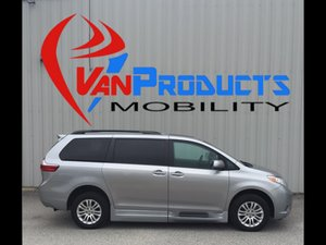 Used Wheelchair Van For Sale: 2015 Toyota Sienna XLE Wheelchair Accessible Van For Sale with a  on it. VIN: 5TDYK3DC5FS556233