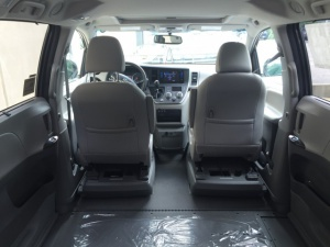 New Wheelchair Van For Sale: 2016 Toyota Sienna XLE Wheelchair Accessible Van For Sale with a  on it. VIN: 5TDYK3DC5GS697952