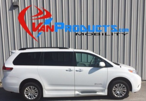 New Wheelchair Van For Sale: 2014 Toyota Sienna XLE Wheelchair Accessible Van For Sale with a  on it. VIN: 5TDYK3DCXES423515